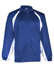 Badger 7702 Men Tricot Hook Jacket at GotApparel