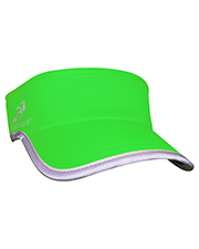 Custom Embroidered Headsweats 7703RF Unisex Reflective Knit Super Visor at GotApparel