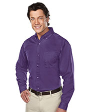 Tri-Mountain 770 Men Professional Stain Resistant Long Sleeve Twill Shirt at GotApparel