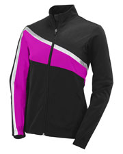Augusta 7736 Girls Aurora Front Zipper Jacket at GotApparel