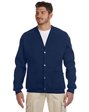 Jerzees 773M Adult 8 oz., 50/50 NuBlend Cardigan at GotApparel