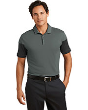 Nike 779802 Men 5.1 oz Dri-FIT Sleeve Colorblock Modern Fit Polo at GotApparel