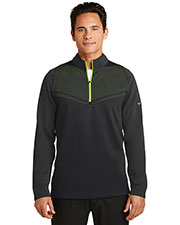 Nike 779803 Men Therma-FIT Hypervis 1/2-Zip Cover-Up. at GotApparel
