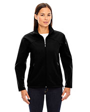 North End 78034 Women Three-Layer Fleece Bonded Performance Soft Shell Jacket at GotApparel