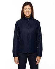 North End 78044 Women Mid-Length Micro Twill Jacket at GotApparel