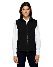 North End 78050 Women Three-Layer Light Bonded Performance Soft Shell Vest at GotApparel
