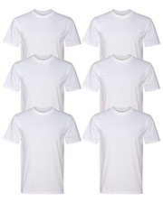 Anvil 780 Men Midweight T-Shirt 6-Pack at GotApparel