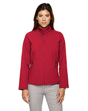 Core 365 78184 Women Cruise Two-Layer Fleece Bonded Soft Shell Jacket at GotApparel