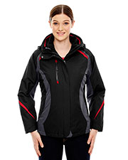 North End 78195 Women Height 3-in-1 Jacket with Insulated Liner at GotApparel