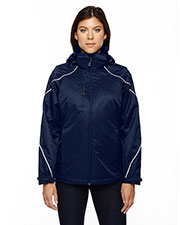 North End 78196 Women Angle 3-in-1 Jacket with Bonded Fleece Liner at GotApparel