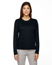 Core 365 78199 Women Agility Performance Long Sleeve Pique Crew Neck at GotApparel