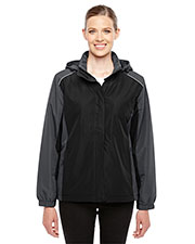 Core 365 78225 Women Inspire Colorblock AllSeason Jacket at GotApparel