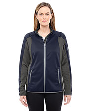 North End 78230 Women Motion Interactive ColorBlock Performance Fleece Jacket at GotApparel