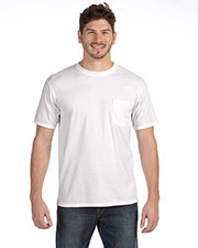 Anvil 783AN Adult Midweight Pocket T-Shirt at GotApparel