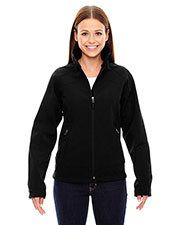North End 78604 Women Three-Layer Light Bonded Soft Shell Jacket at GotApparel