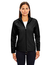 North End 78621 Women Three-Layer Light Bonded Soft Shell Jacket at GotApparel