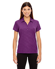 North End 78659 Women Maze Performance Stretch Embossed Print Polo at GotApparel