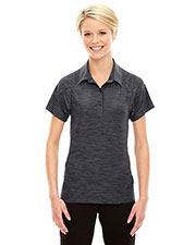North End 78668 Women's Barcode Performance Stretch Polo at GotApparel