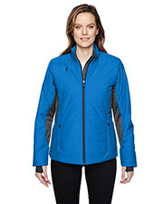 North End 78696 Women Immerge Insulated Hybrid Jacket with Heat Reflect Technology at GotApparel