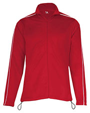 Badger 7901 Women 100% Polyester Razor Full-Zipper Jacket at GotApparel