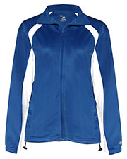 Badger 7902 Women Lady Tricot Full-Zip Jacket at GotApparel