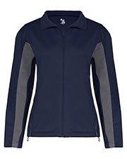 Badger 7903  Bd Ldy Tricot Zip Jacket at GotApparel