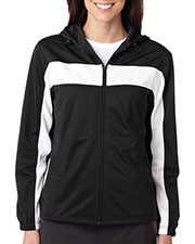Badger 7905 Women Lady Zip Hd Tricot Jacket at GotApparel