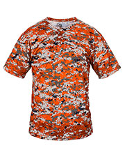 Badger 7980  Two-Button Placket Digital Camo Jersey at GotApparel
