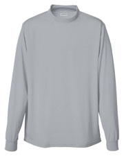 Augusta 799 Boys Wicking Mock Turtleneck Long Sleeve Jersey at GotApparel
