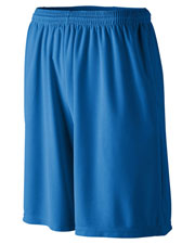 Augusta 803 Men Longer Length Wicking Short With Pocket at GotApparel