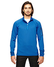 Custom Embroidered Marmot 80890 Men Stretch Fleece Half-Zip at GotApparel
