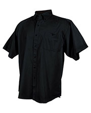 Tri-Mountain 808 Men Director Cotton Short-Sleeve Twill Shirt at GotApparel