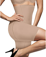 Bali 8097 Women Cool Comfort HiWaist Thigh Slimmer at GotApparel