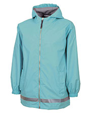 Charles River Apparel 8099 Youth New Englander Rain Jacket at GotApparel