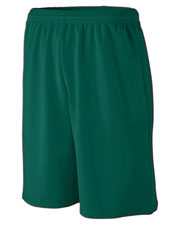 Augusta 809 Boys Long Length Wicking Mesh Athletic Short at GotApparel