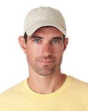 UltraClub 8102 Unisex Classic Cut Chino Cotton Twill Unconstructed Cap at GotApparel