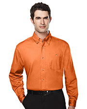 Tri-Mountain 810 Men Executive Cotton Long-Sleeve Twill Shirt at GotApparel