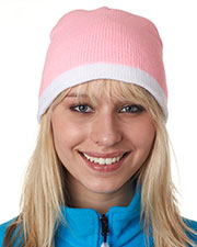 UltraClub 8132 Unisex 2-Tone Knit Beanie at GotApparel