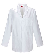 "Dickies Medical 81404AB Men 31"" Lab Coat at GotApparel"