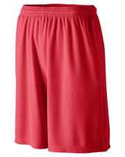 Augusta 814 Longer Length Wicking Short With Pockets at GotApparel