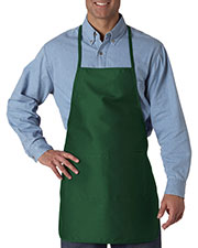 UltraClub 8200 Unisex Large 2-Pocket Apron at GotApparel