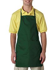 UltraClub 8204 Unisex 2-Pocket Adjustable Apron at GotApparel