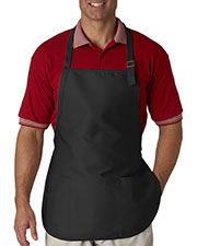 Ultraclub 8205 Unisex 3pocket Apron With Buckle at GotApparel