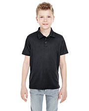 UltraClub 8210Y Boys Cool & Dry Mesh Pique Polo at GotApparel