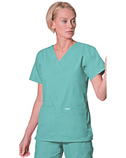 Landau 8219 Women V-Neck Tunic at GotApparel