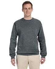 Fruit Of The Loom 82300 Men 12 Oz. Super Cotton 70/30 Fleece Crew at GotApparel