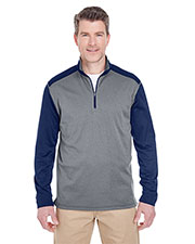 UltraClub 8232 Men Cool & Dry Sport 2-Tone 1/4Zip Pullover at GotApparel