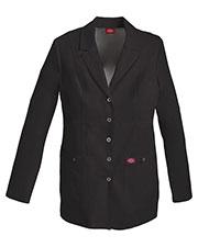 "Dickies Medical 82400 Women 28"" Snap Front Lab Coat at GotApparel"