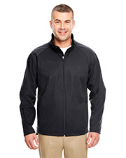 UltraClub 8275 Men 2-Tone Soft Shell Jacket at GotApparel
