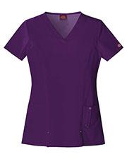 Dickies Medical 82851 Women V-Neck Top at GotApparel